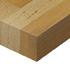 Kaboodle kitchens benchtops profile square edge  radius euro beech